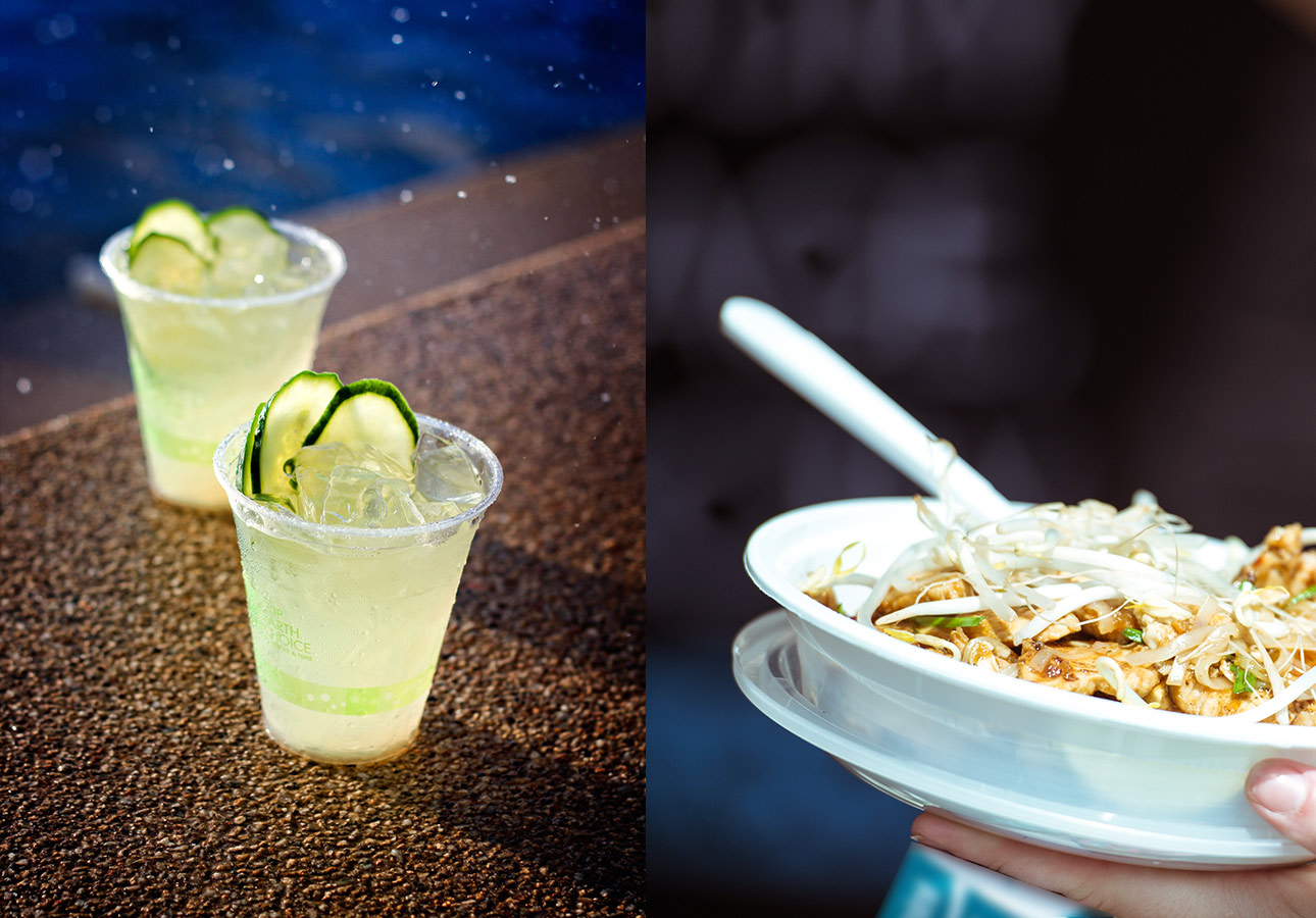 CMAC experience is Food & Beverages
