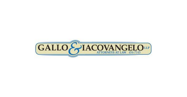Sponsored by Gallo & Iacovangelo Attorneys at Law