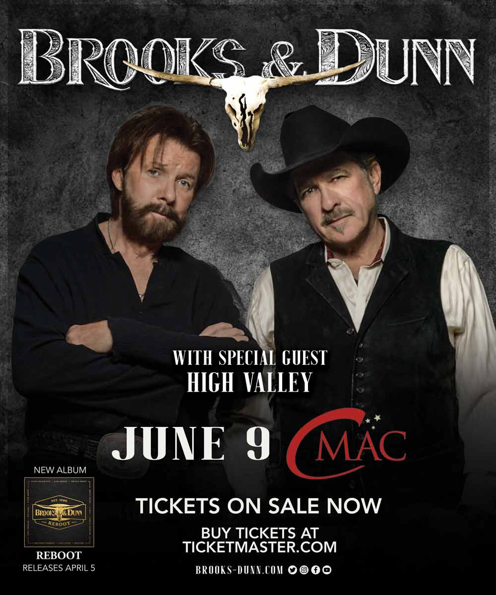 Brooks and Dunn Show Announcement