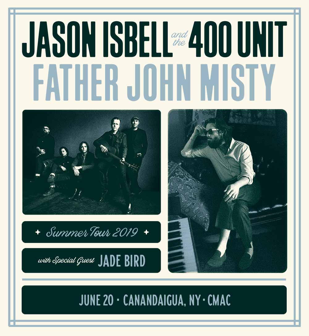 Jason Isbell and the 400 Unit and Father John Misty show announcement