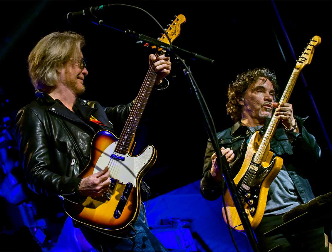Daryl Hall and John Oates Show Announcement