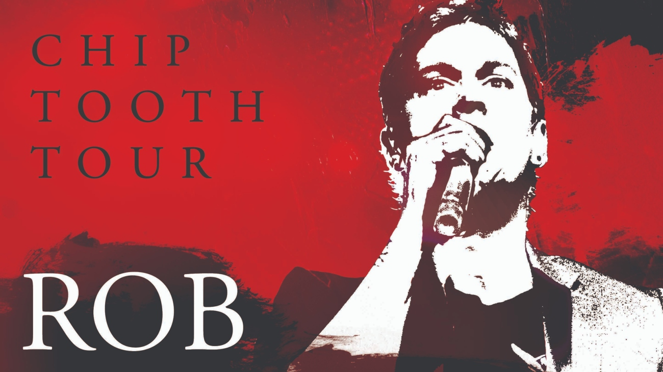 chip tooth tour with rob thomas