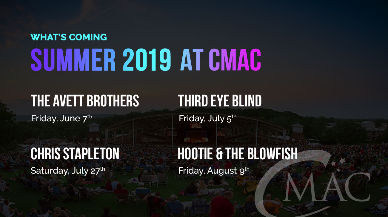 cmac slider upcoming events summer 2019