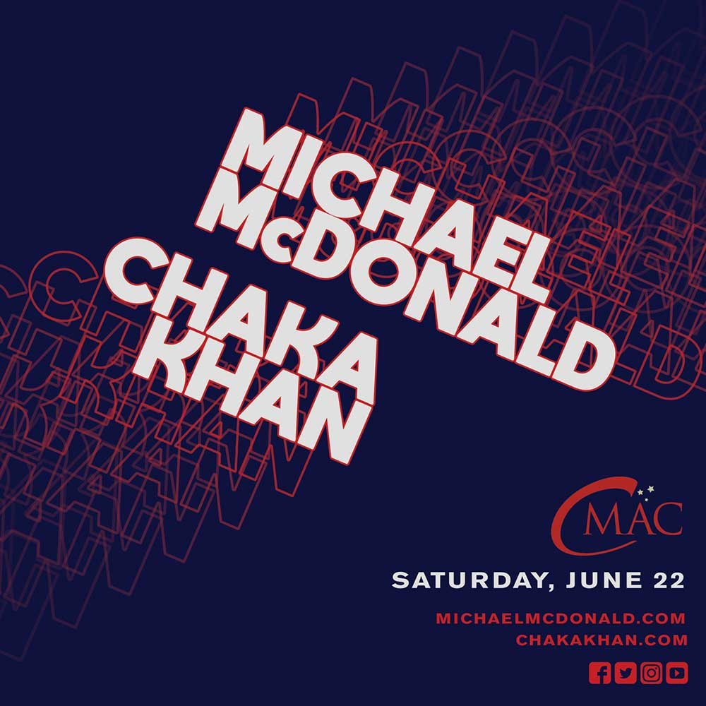 mcdonald chaka khan show announcement