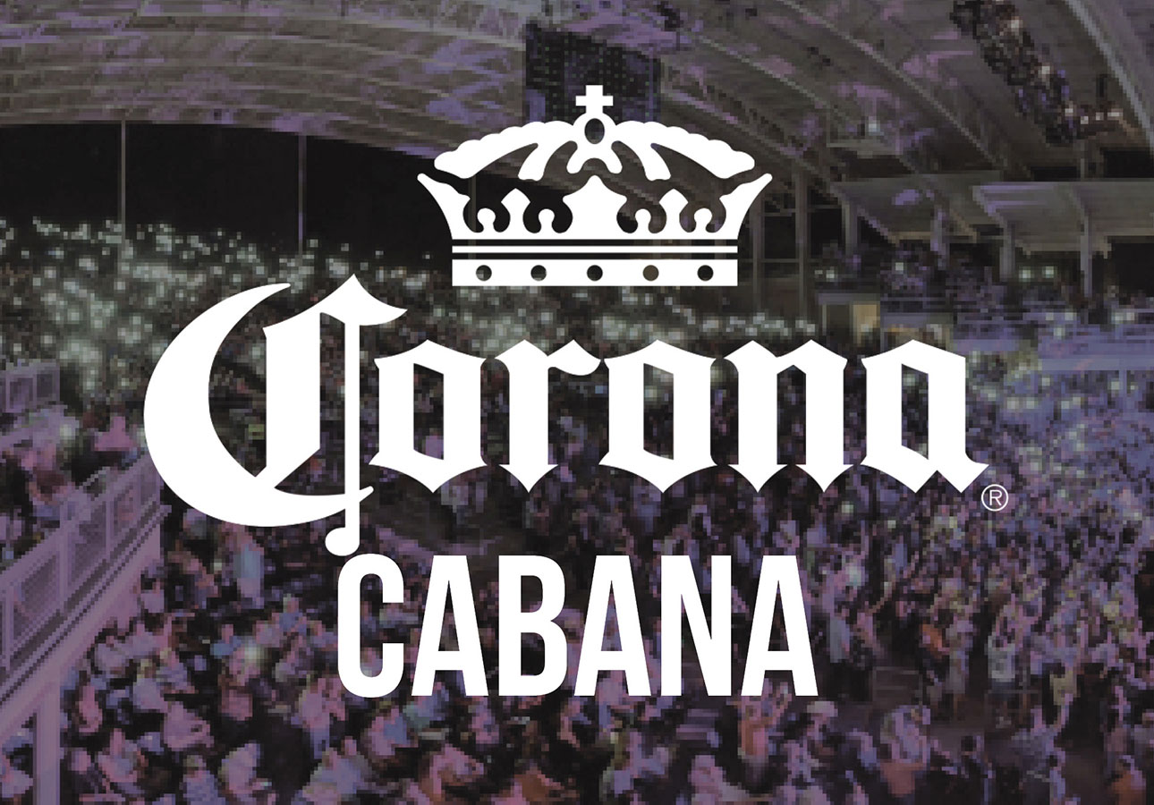 The corona cabana is all apart of the CMAC experience