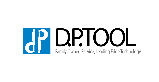 D.P. Tool and Machine Logo
