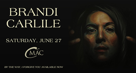 Brandi carlie show announcement at cmac